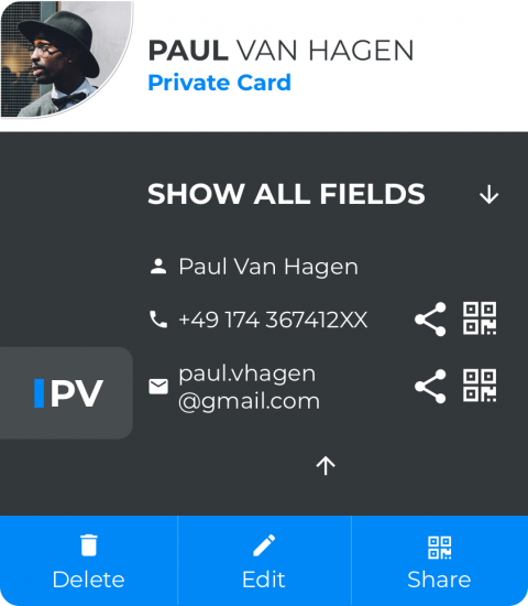 Paul Private Card